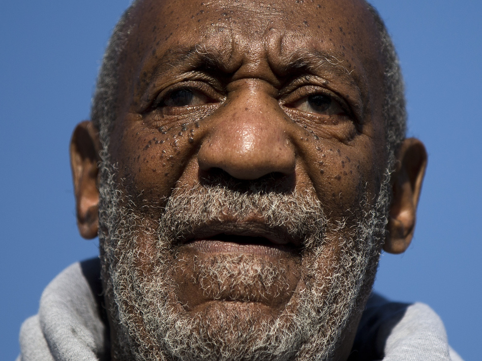 Entertainer Bill Cosby speaking during a Veterans Day ceremony, on Tuesday. After settling a lawsuit over accusations of sexual assault in 2006, a second woman has come forward with similar claims.