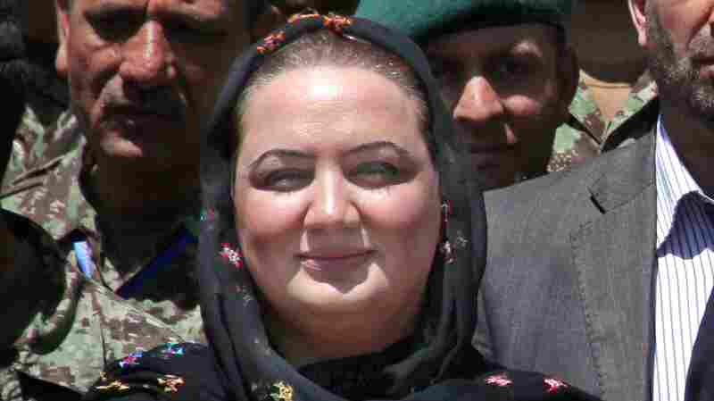 Afghan parliamentarian Shukria Barakzai is an ally of newly elected President Ashraf Ghani and a women's rights advocate.