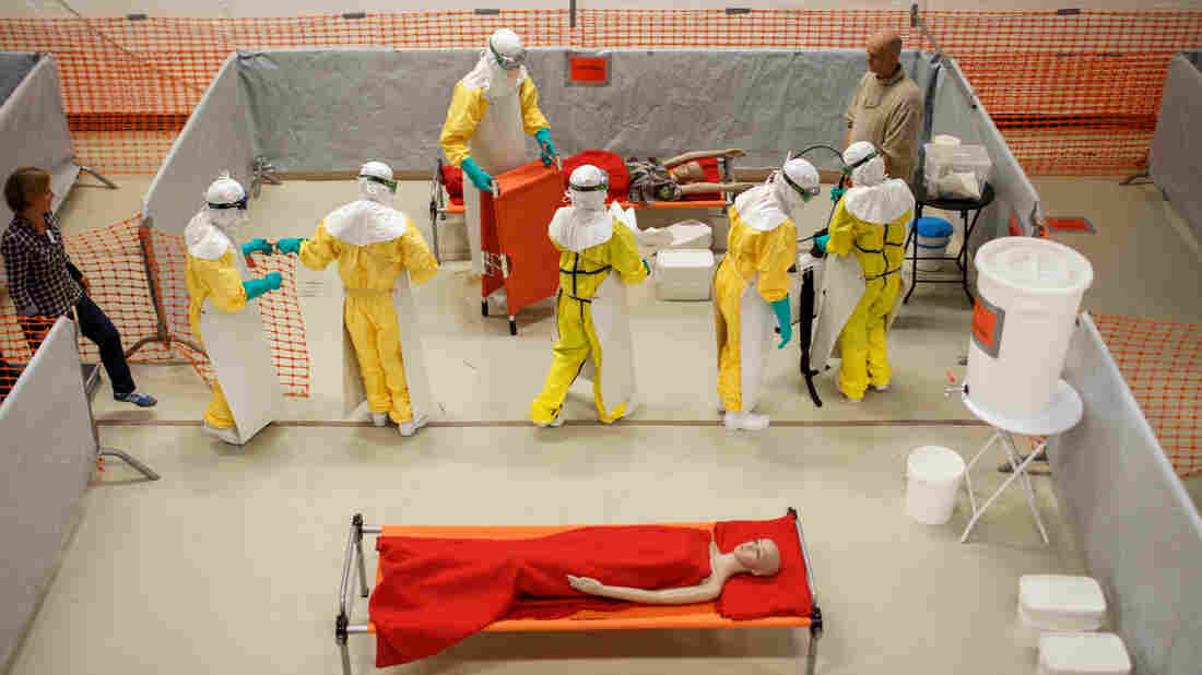 One of the four non-profits to benefit from the Google matching campaign is Doctors Without Borders, which held an Ebola training program last week in Amsterdam.