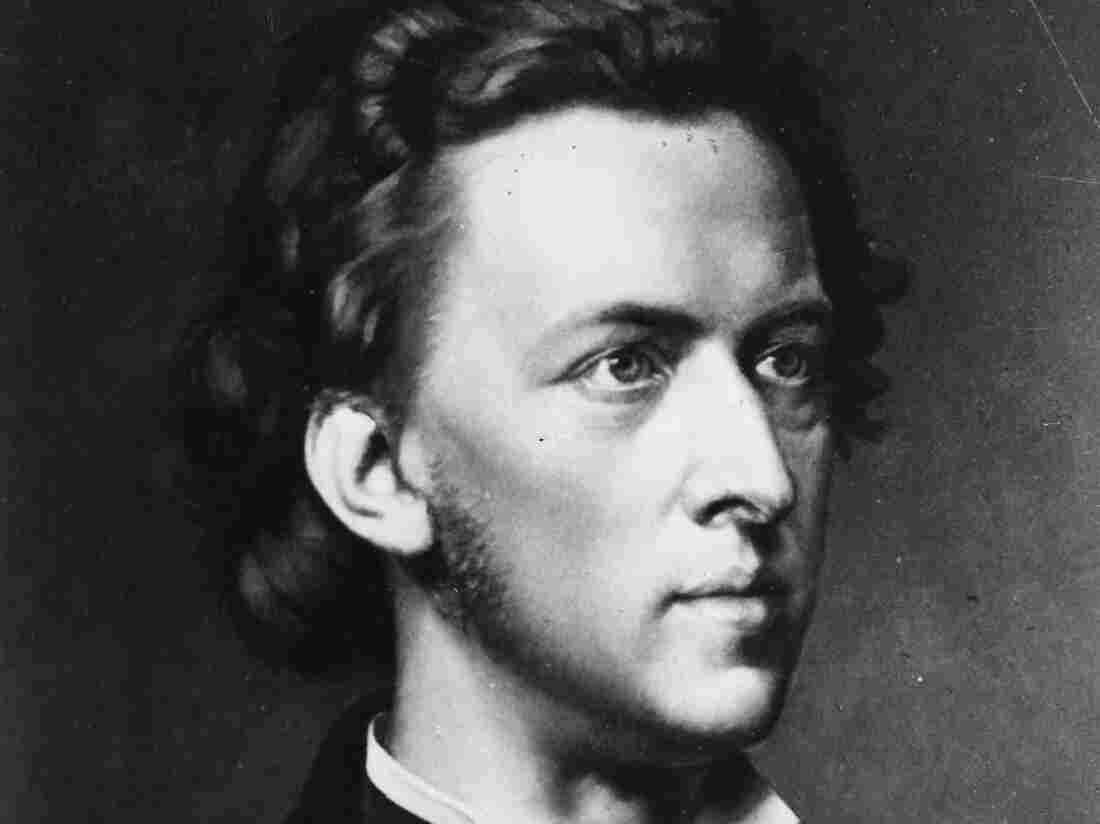 Composer and pianist Frederic Chopin, who died in 1849.