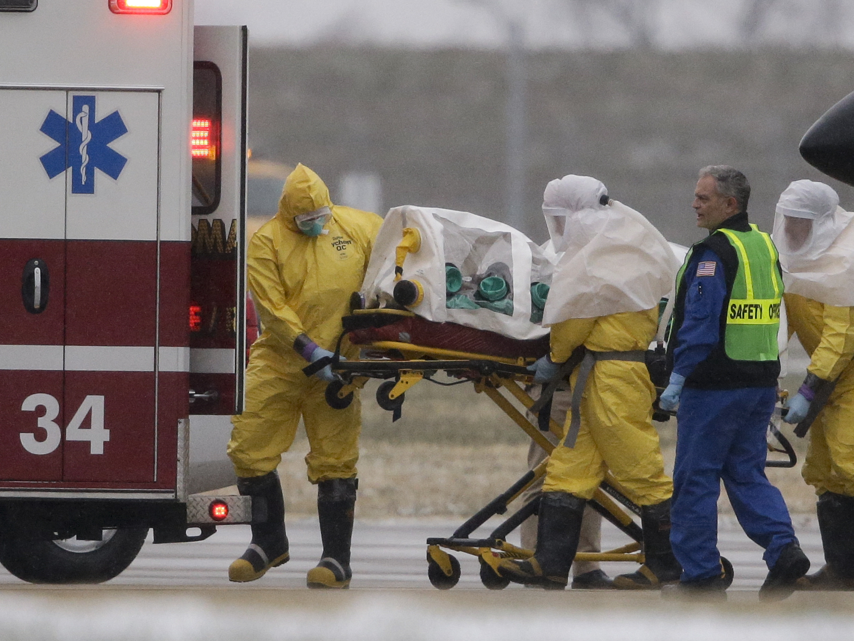 Ebola Patient Being Treated At Nebraska Hospital Has Died