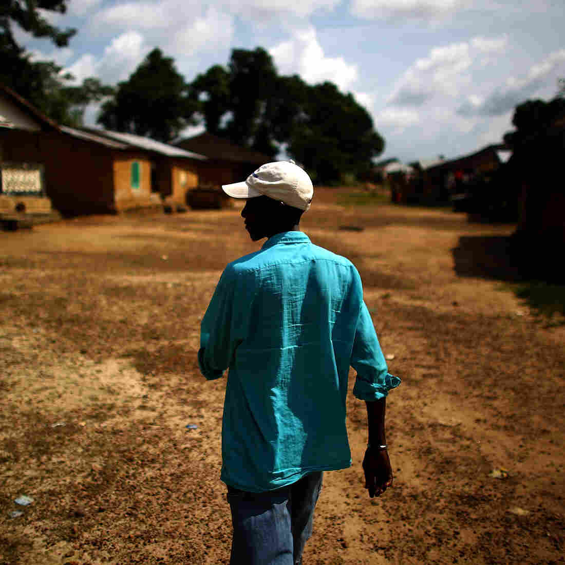 Foday Kamara is the leader of Royail, a tiny village now battling Ebola.