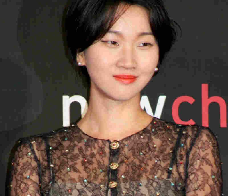 Korean actress Jang Yoon-Joo.