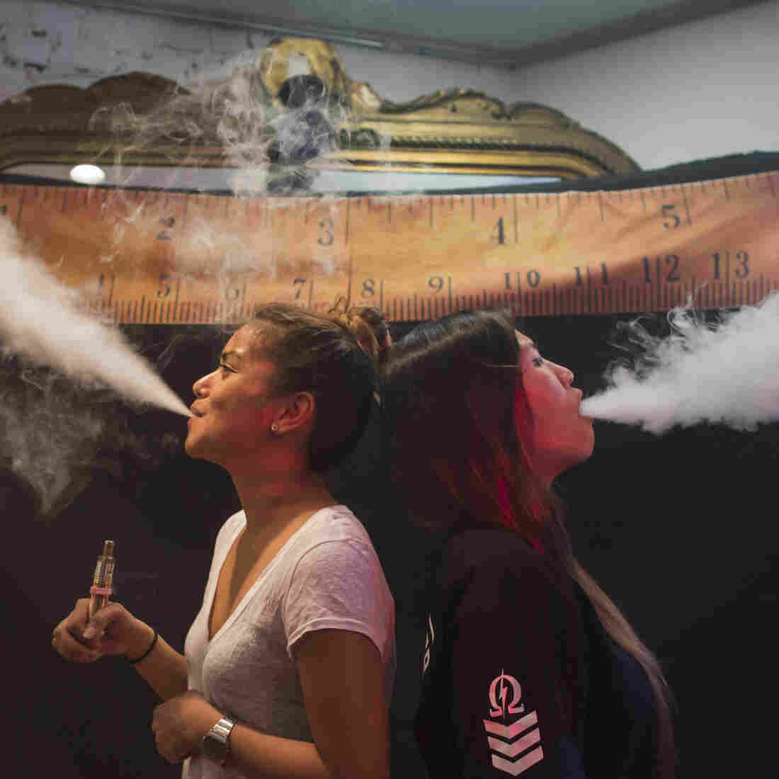 Take It In: 'Vape' Is The Oxford Dictionaries Word Of The Year