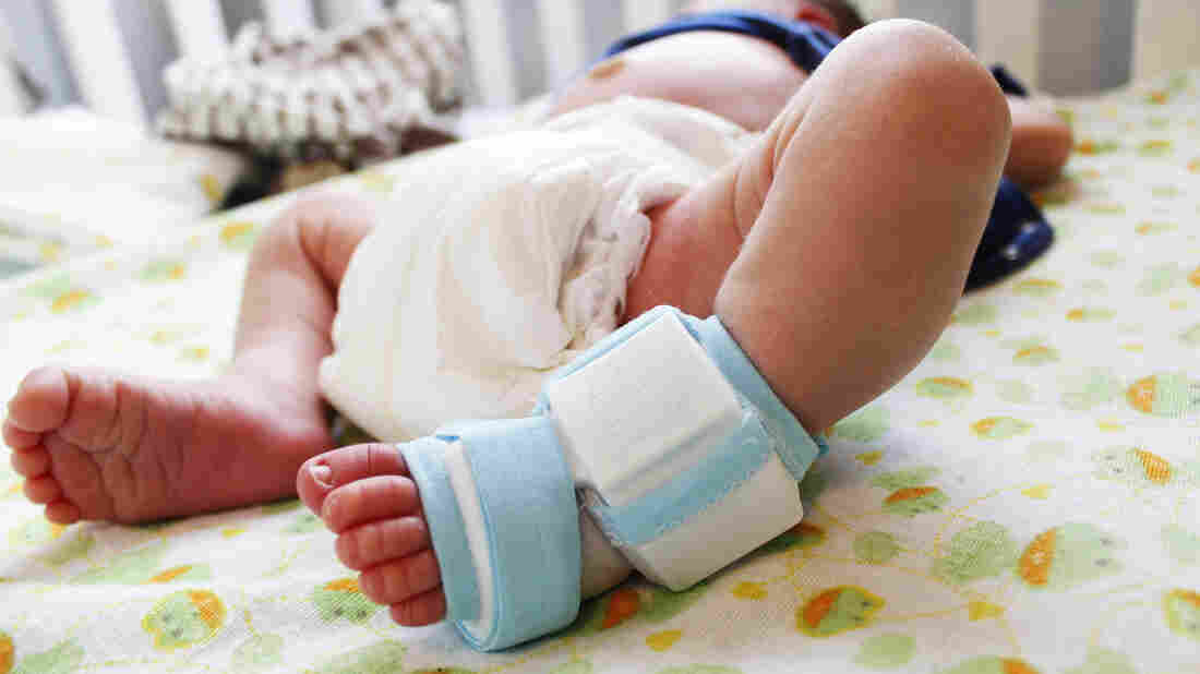 The Owlet, which is not yet on the market, is designed to measure a baby's heart rate and blood oxygen levels.
