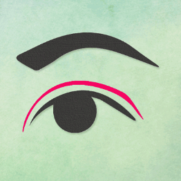"""Double eyelids, single eyelids — """" why do we change our eyes, or keep them the way they are?"""
