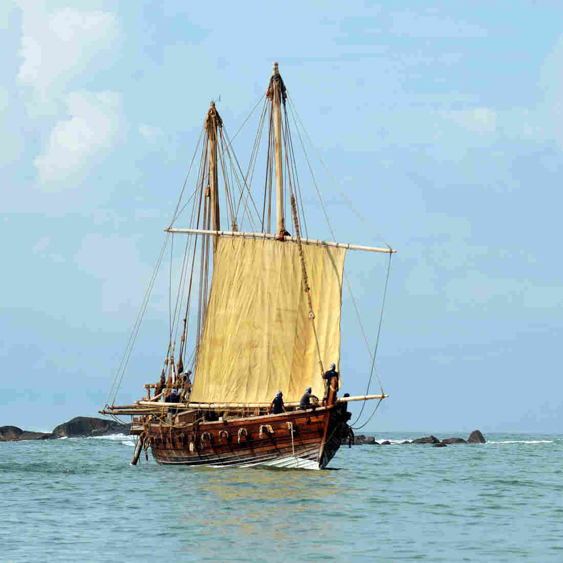 With Hand-Sewn Ships, Oman Revives A Glorious Maritime Past
