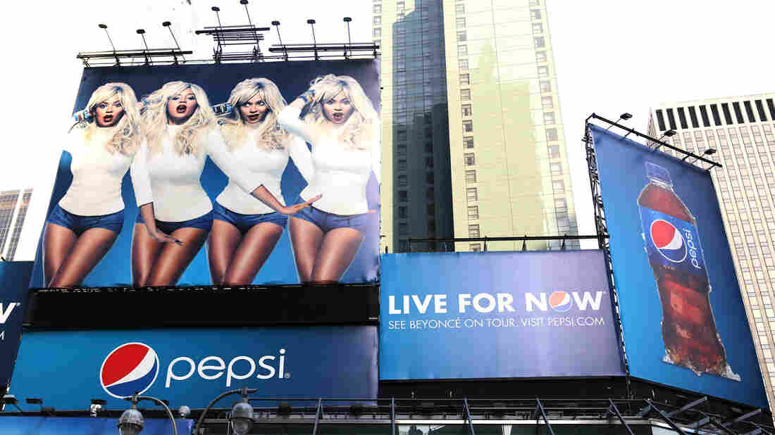When beverage companies like Pepsi create ad campaigns with stars like Beyonce, they're trying to appeal to youth, says Jennifer Harris of the Rudd Center for Food Policy & Obesity.