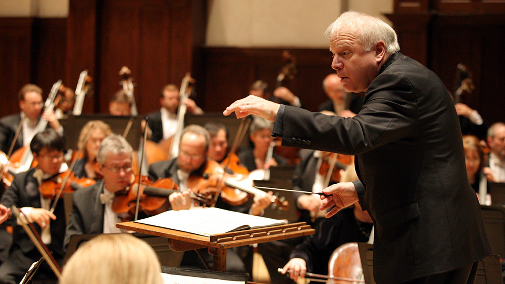 This weekend Leonard Slatkin leads the Detroit Symphony Orchestra in several premieres, webcast live.