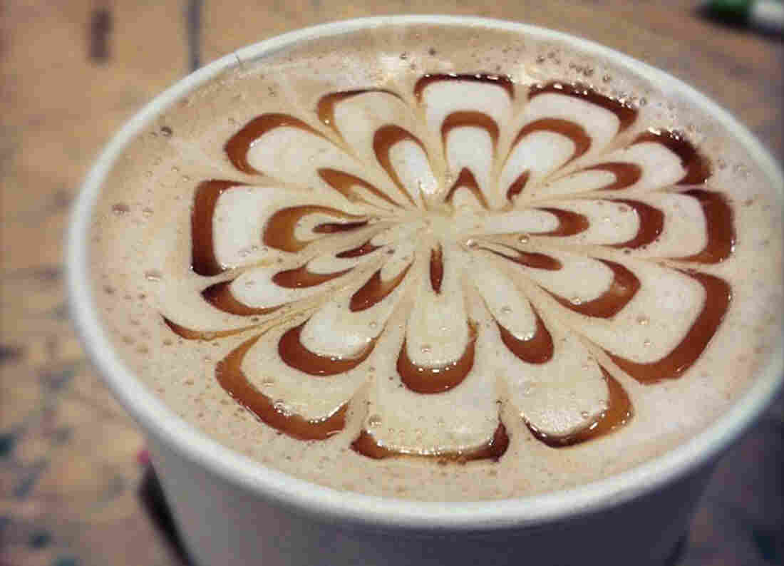 """A tiny selection of the flavor compounds in pumpkin and pumpkin-pie spices is enough to make our brain think, """"Ah, pumpkin pie!"""" when we drink a pumpkin pie latte."""