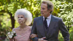 Maria del Rosario Cayetana Fitz-James Stuart, the Duchess of Alba, and her husband, Alfonso Diez, walk out of the chapel after their wedding at Las Duenas Palace in Seville on Oct. 5, 2011. The duchess died Thursday. She was 8
