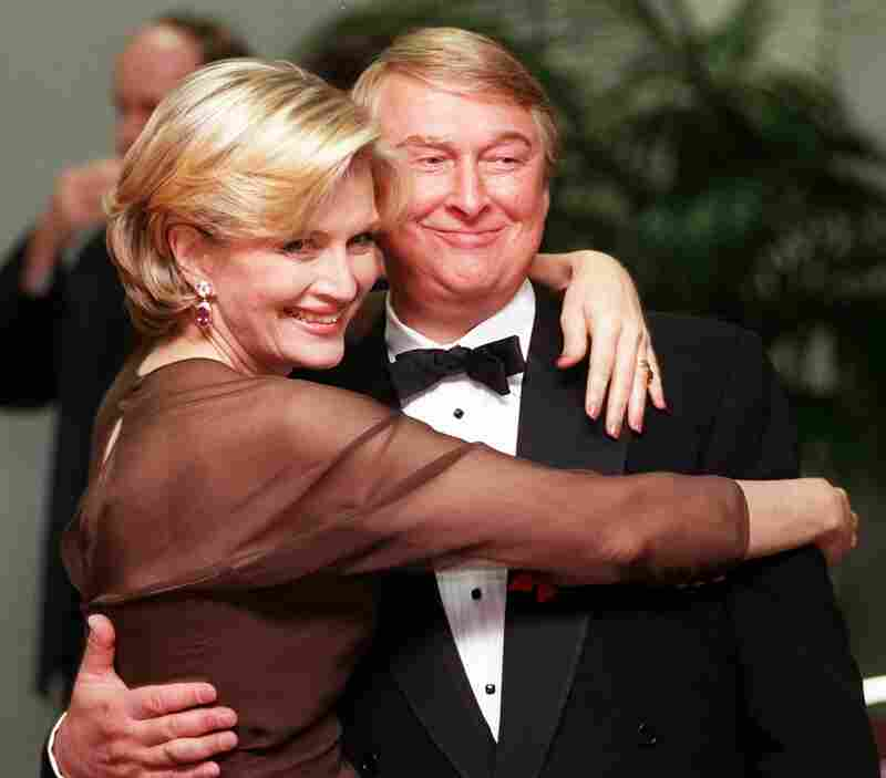 Nichols and television journalist Diane Sawyer, shown above in November 1997, were married for 26 years.