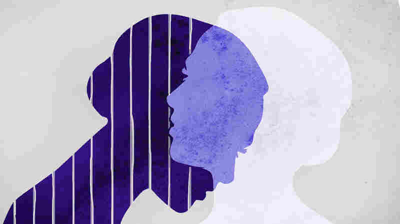 Illustration of overlapping female silhouettes