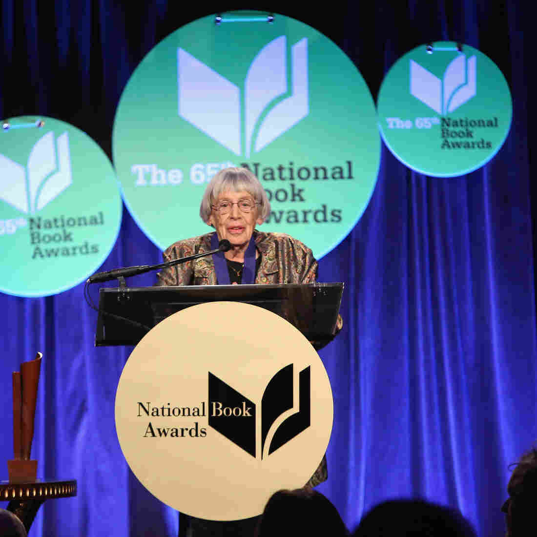 Book News: Ursula K. Le Guin Steals The Show At The National Book Awards