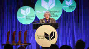 "In her speech Wednesday night in New York, Ursula K. Le Guin declared, ""The name of our beautiful reward is not profit. Its name is freedom."""