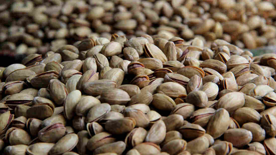 Pistachios, a possible energy source for a Turkish city.