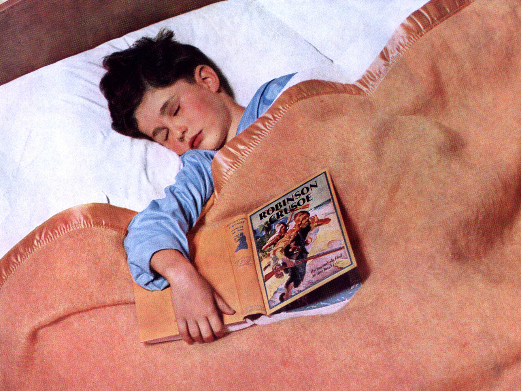 Can't Sleep? Maybe Thinking About Evolution Will Help