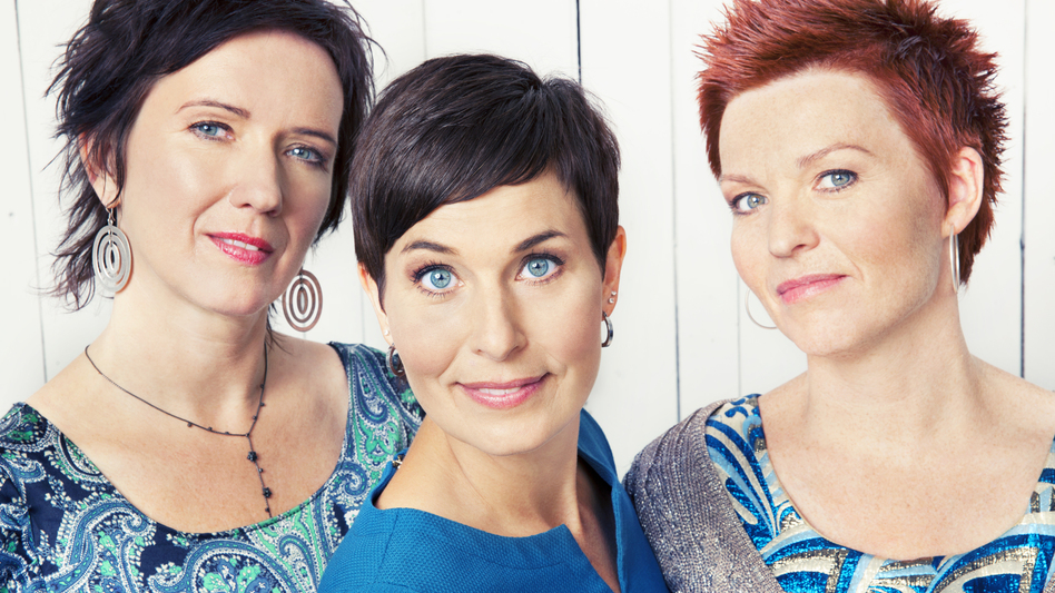 Trio Mediaeval is (from left) Berit Opheim, Anna Maria Friman and Linn Andrea Fulgseth. (Courtesy of the artist)