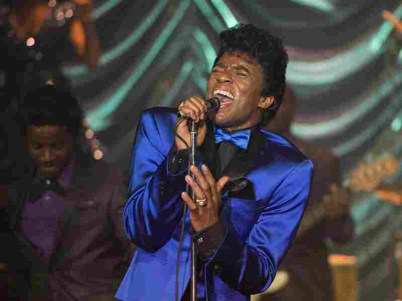 After Chadwick Boseman played Jackie Robinson in 2013's 42, he starred as a suspiciously tall James Brown in 2014's Get On Up.