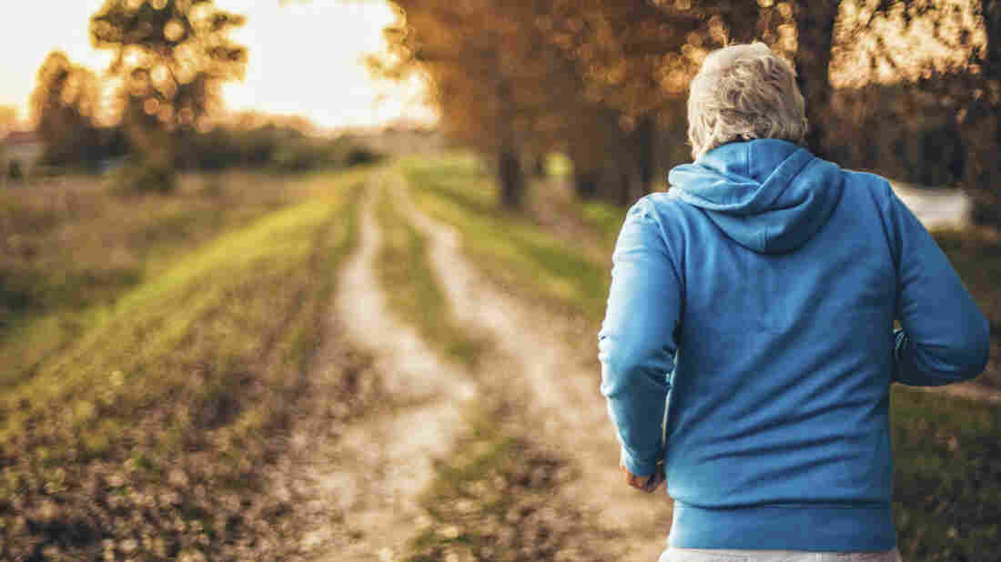 People use energy less efficiently as they age. Running seems to help prevent that slowdown.