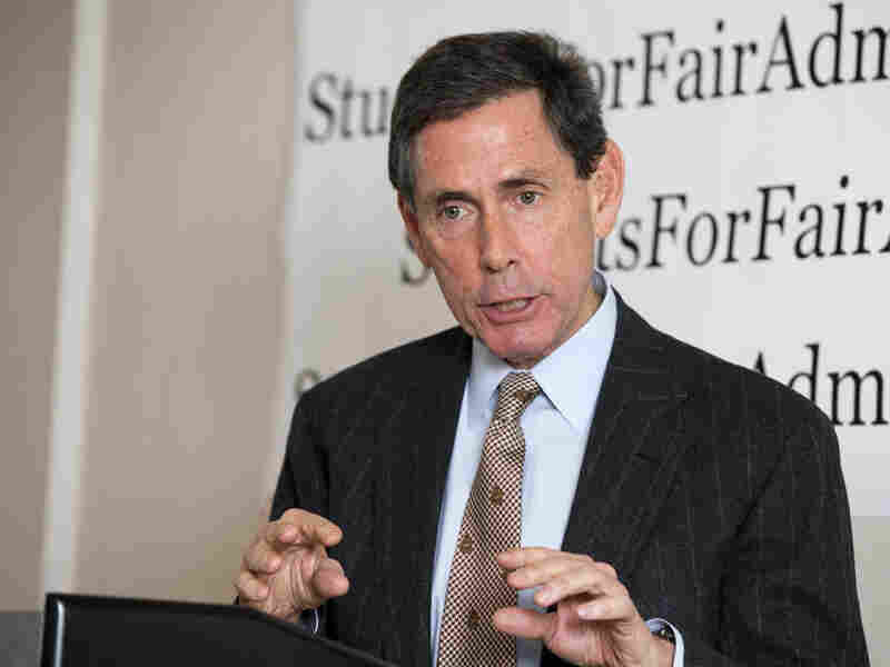 Edward Blum announces the filing of two lawsuits on Monday, challenging the alleged racial preference admissions policies of Harvard and the University of North Carolina-Chapel Hill.
