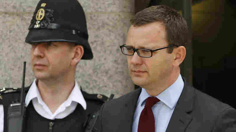 Andy Coulson, the former News of the World editor, leaves the Central Criminal Court in London on June 25. He was released from prison on Friday after serving less than five months of his 18-month sentence for conspiring to intercept voicemails.