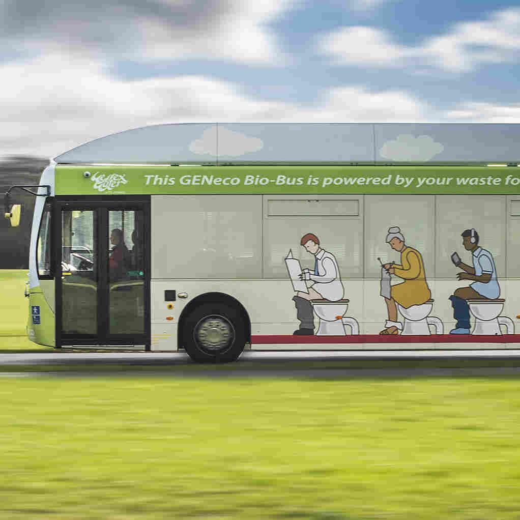 Poo Power: New British Bus Runs On Human Waste