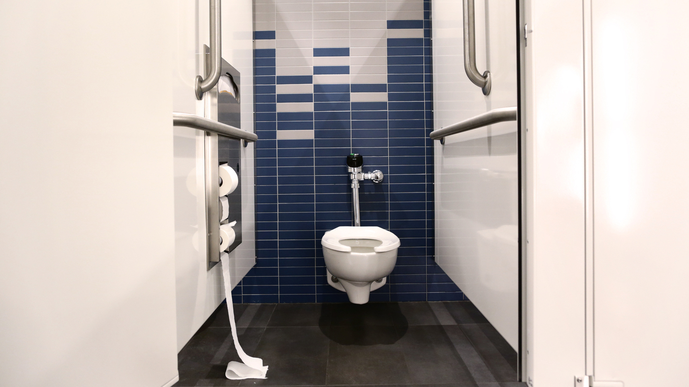 What Microbes Lurked In The Last Public Restroom You Used Shots Health News Npr