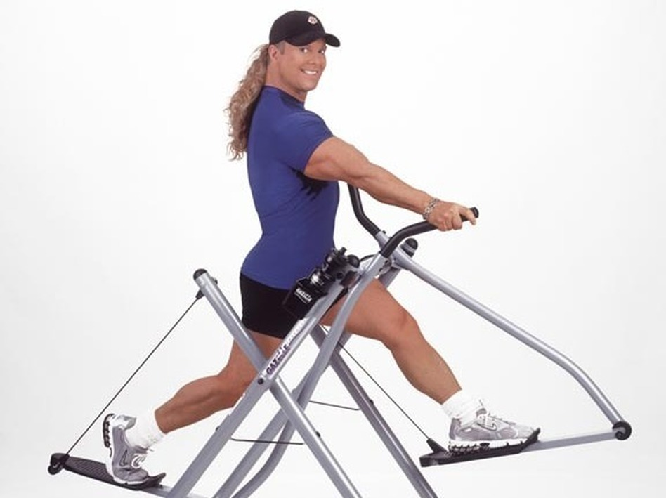 Gazelle Exercise Machine >> After Injury Tony Little Told Himself You Can Do It Wbur News