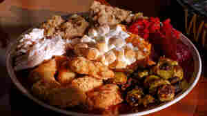 "NPR producer Olly Dearden is a fan of most classic Thanksgiving dishes, but calls sweet potatoes topped with marshmallows a ""culinary abomination."""