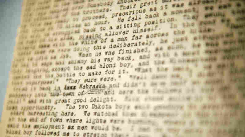 Jack Kerouac's On the Road, a draft of which is seen here, may never have taken the rambling form it did, had he not seen a letter similarly styled by his friend Neal Cassady.
