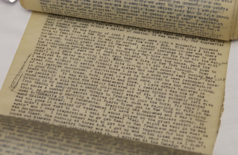 Long Lost Letter That Inspired On The Road Style Has Been Found Npr