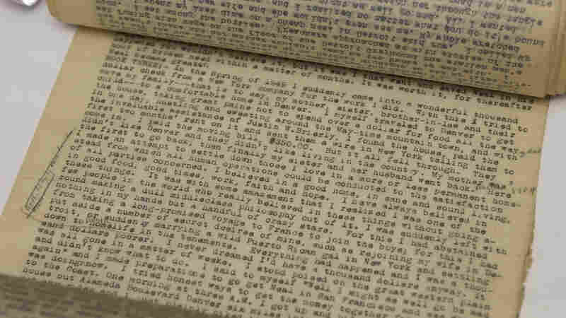 A stream of consciousness letter Neal Cassady wrote to Jack Kerouac helped inspire the style of On The Road. The original manuscript of the first draft of Jack Kerouac's best-seller is shown above.