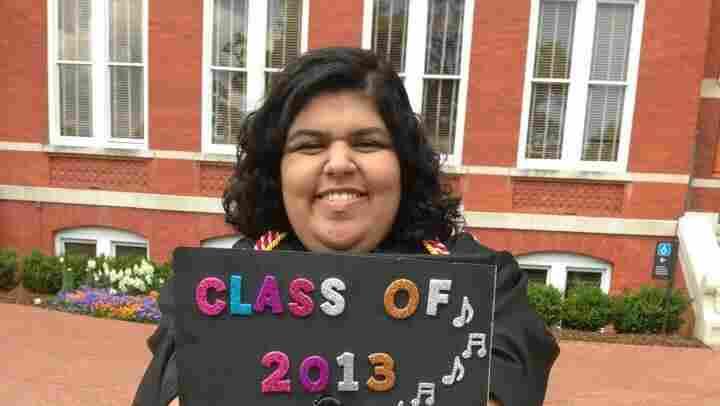 Aashana Vishnani's graduation from the Auburn University last year.