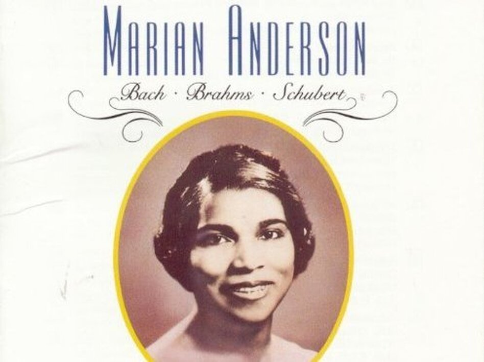 Marian Anderson sings Brahms.