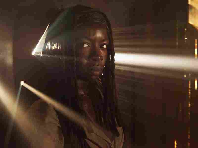 Fierce, sword-swinging Michonne is one of the show's most popular characters.