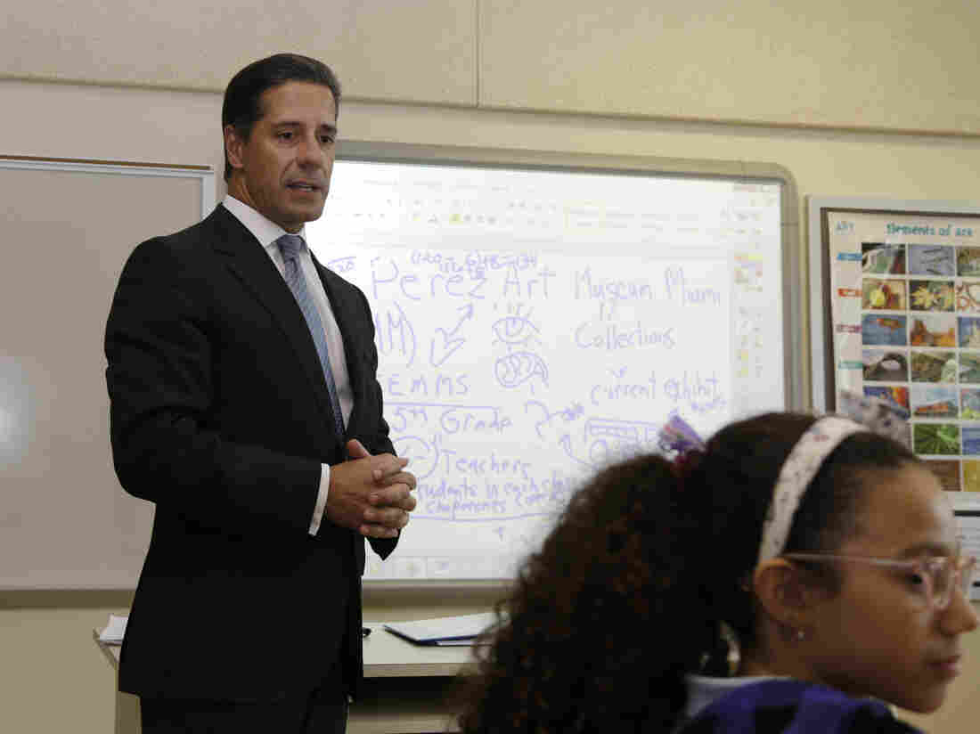 Superintendent Alberto Carvalho of Miami-Dade County Public Schools says he knows how much gets paid out in health care claims, but the school system's insurance carrier, Cigna, won't disclose the charges.