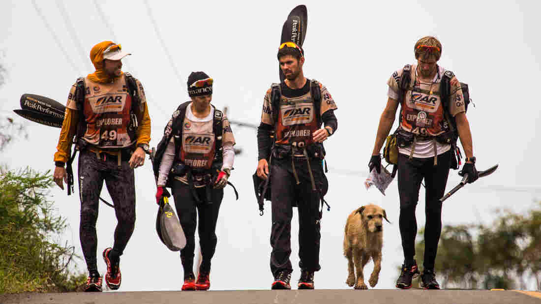 """Team Peak Performance says that after six days, they """"crossed the finish line with 5 members instead of 4 as the 12th top team in the world."""""""