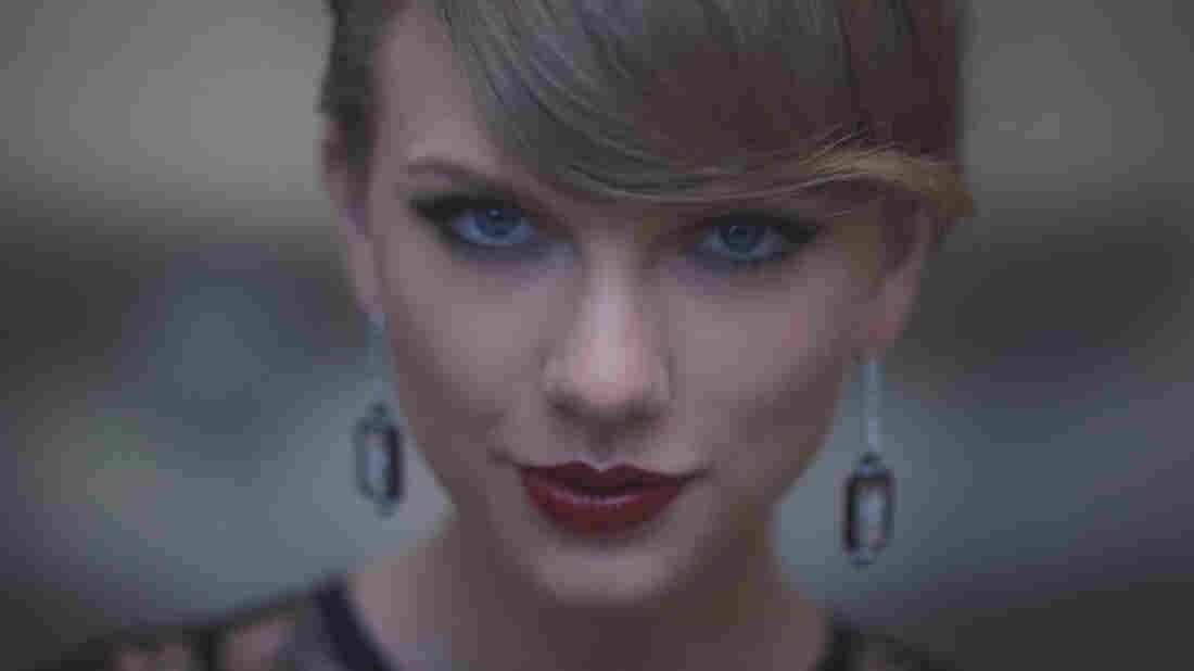 """Taylor Swift, whose 1989 is currently the No. 1 album on the Billboard 200 and whose song """"Blank Space"""" is at the top of the Hot 100, even though her music is not available on Spotify."""