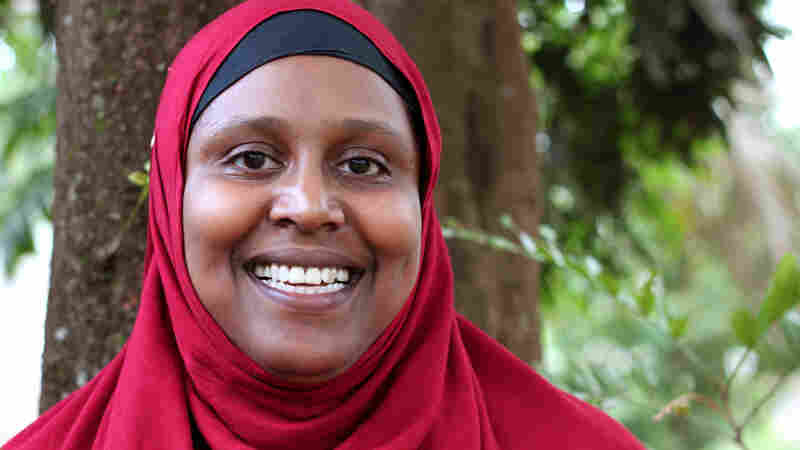"Degan Ali, a Somali-American humanitarian, describes herself on Twitter as a ""social justice activist, Muslima."""