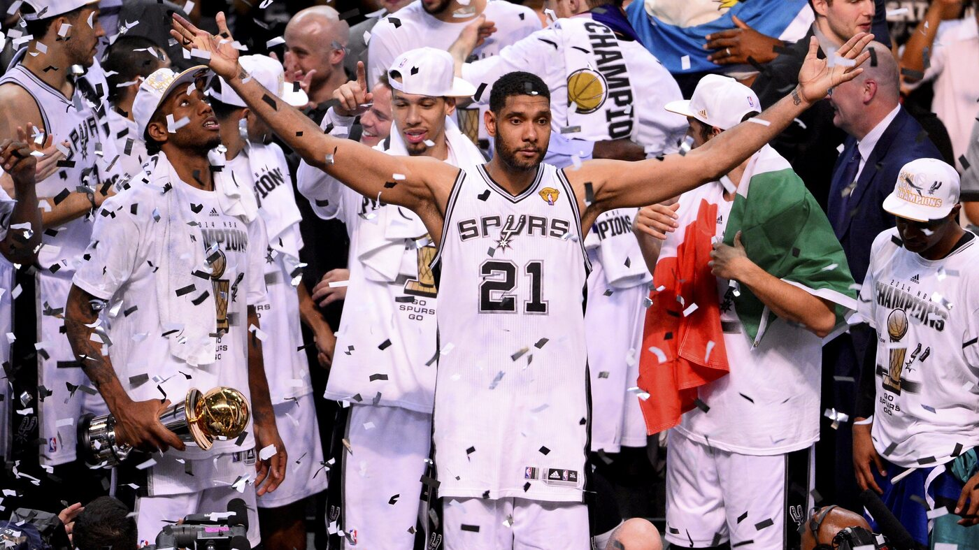 Be Thankful This Year For The San Antonio Spurs Npr