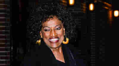 """Soprano Jessye Norman, photographed leaving the Ed Sullivan Theater in New York Thursday after taping the """"Late Show With David Letterman."""""""