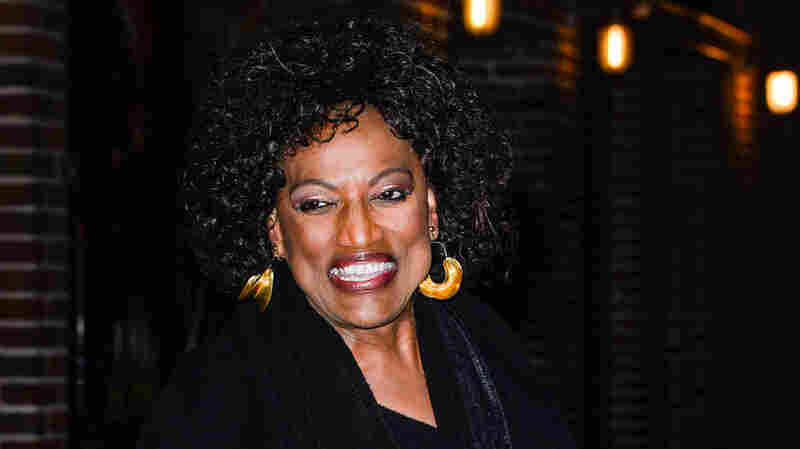 Soprano Jessye Norman leaves the Ed Sullivan Theater in New York on Thursday after taping the Late Show with David Letterman.