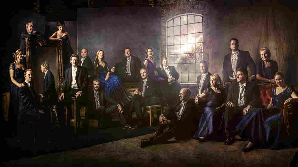 The British choral group called The Sixteen have taken on new settings of the ancient Stabat Mater text.