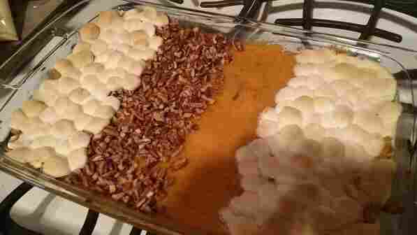 Melissa Lea, or @melilea14, suggests a truce in the age old sweet potato war.
