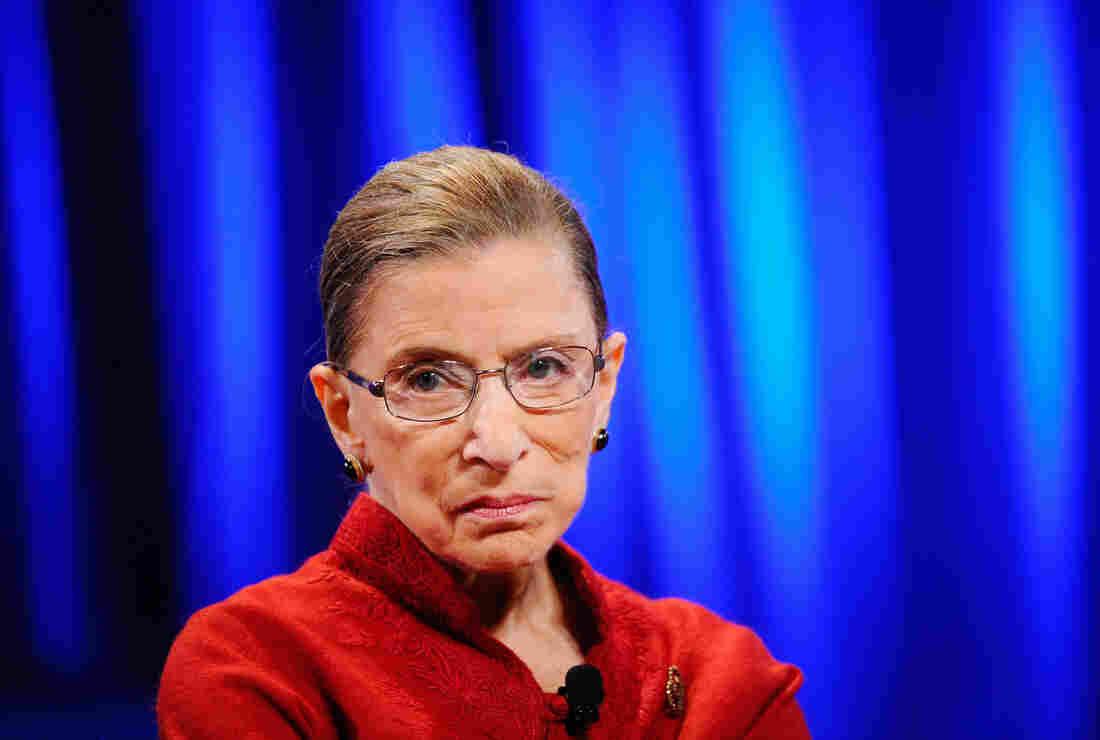 Justice Ruth Bader Ginsburg.