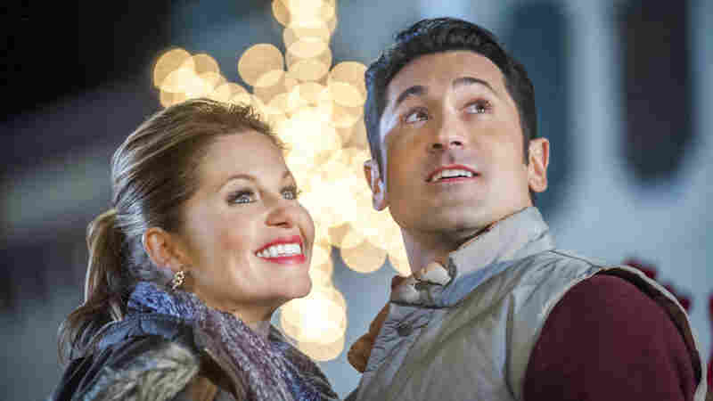 Candace Cameron Bure and David O'Donnell star in Hallmark's Christmas Under Wraps, which airs Saturday on The Hallmark Channel.