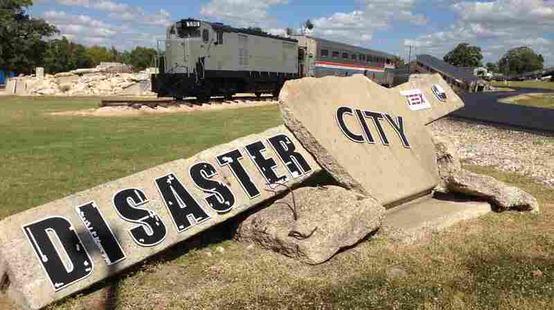 "Since it was built by the Texas A&M Engineering Extension Service in 1998, 90,000 emergency responders have come to ""Disaster City"" to climb over mangled steel and through derailed chemical trains."