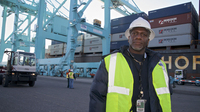 Vince Cameron has worked the docks at the Port of Jacksonville for more than three decades. If the city doesn't deepen the port, he says, a new breed of massive cargo ships will instead go to Savannah, Ga., or Charleston, S.C.