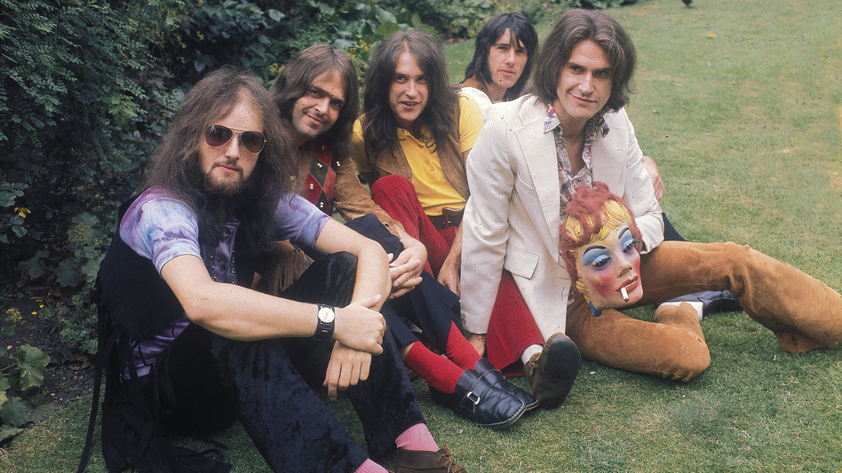 The Kinks in 1970. (Courtesy of Sanctuary Records)